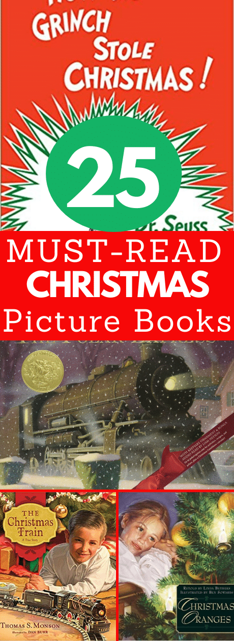 25+ Classic Children's Christmas Books Any Age Can Enjoy via @clarkscondensed