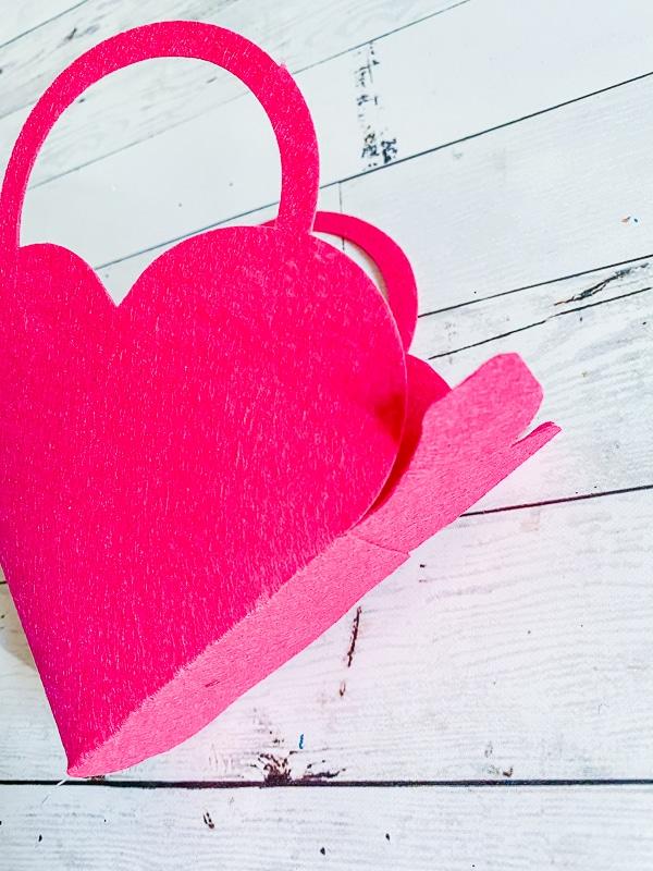 DIY Valentines Favor bag