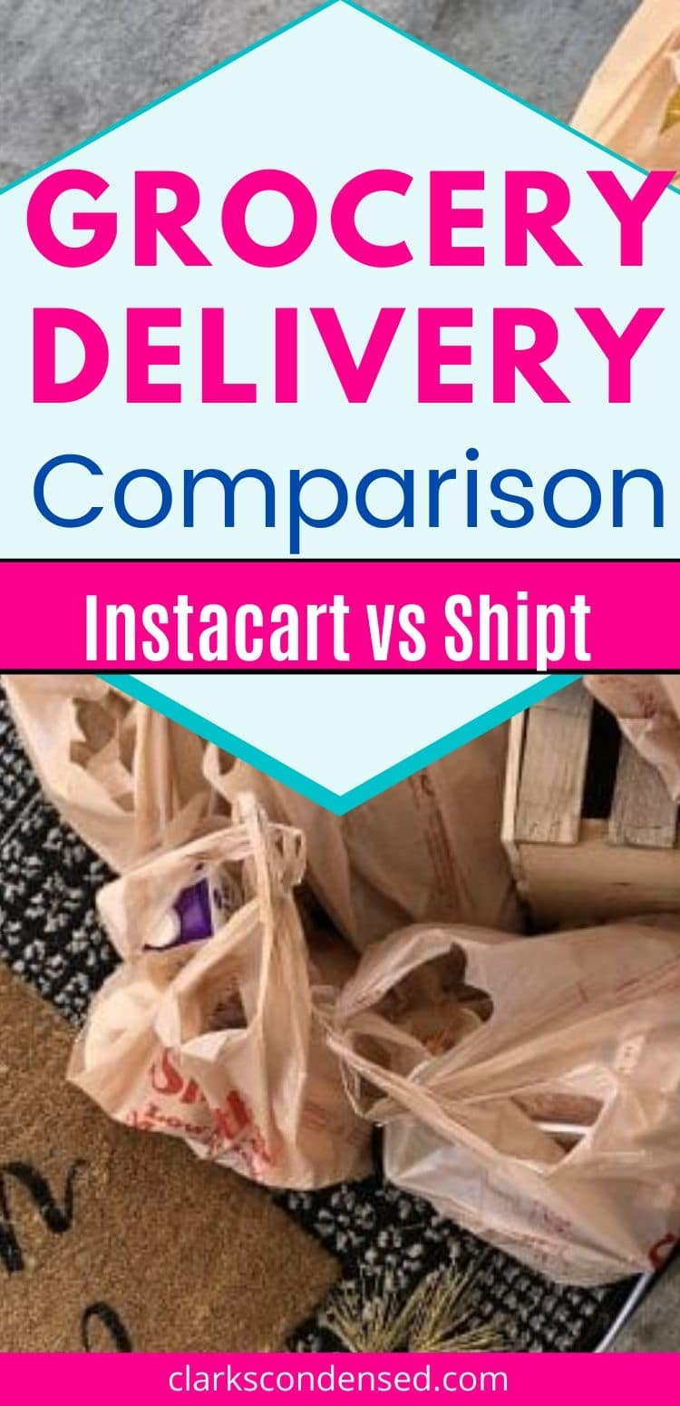 The grocery delivery service is the newest great convenience. But how do you know which service to subscribe to? Not all services are created equal. Learn more about the two we compared - this is unsponsored and unbiased! via @clarkscondensed