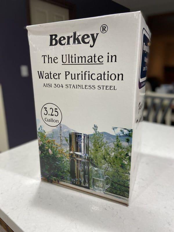Berkey in its box.