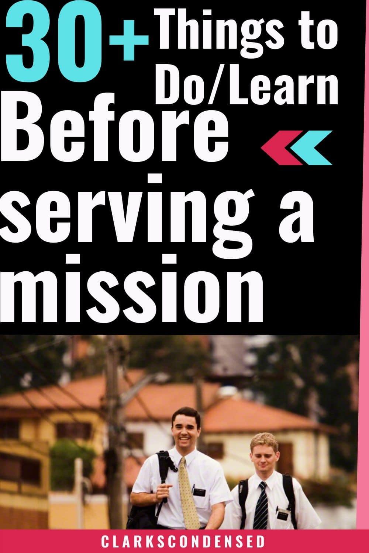 LDS missionary List