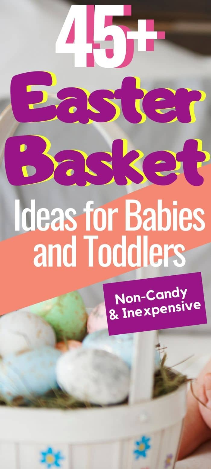 easter baskets for babies