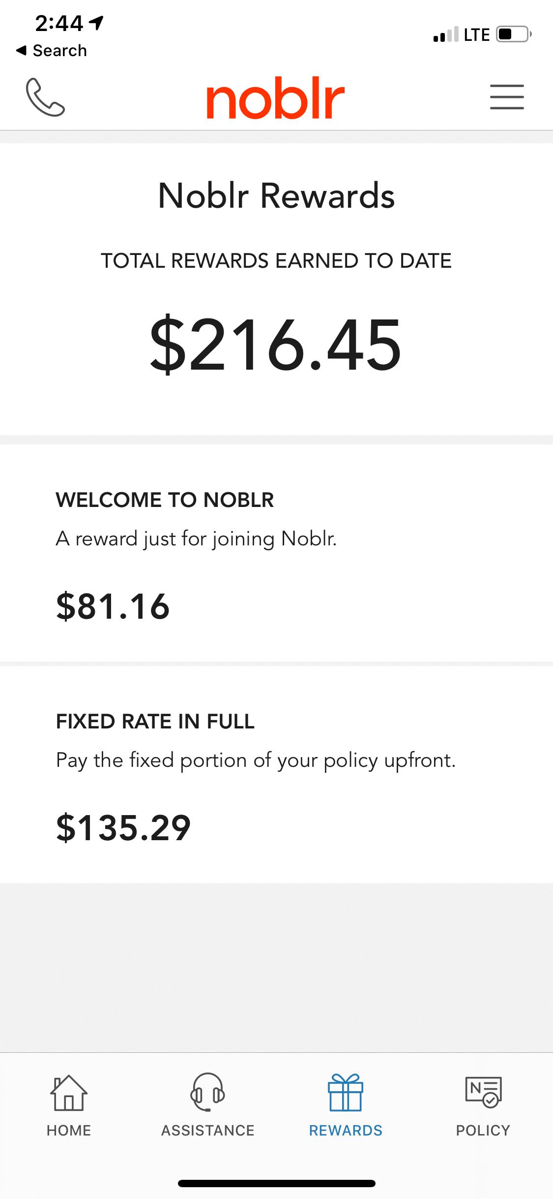 noblr rewards