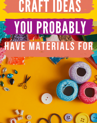 Image says about craft materials