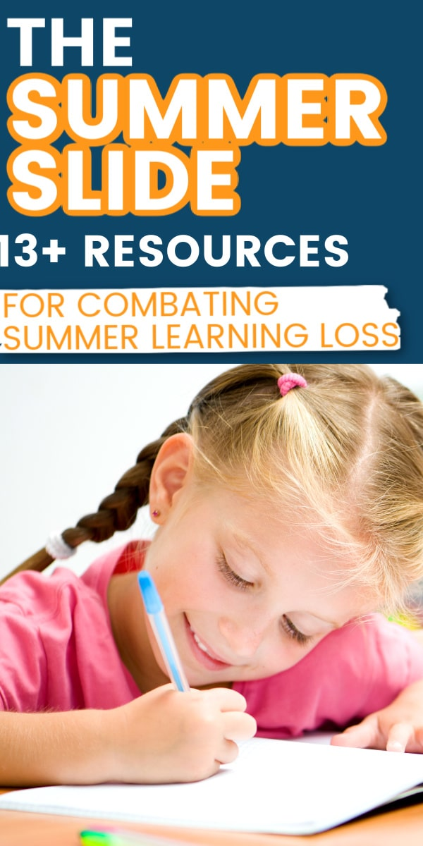 13 fun resources to prevent summer brain drain / summer learning loss / summer slide / learning for kids / kid learning / child learning #summerbraindrain via @clarkscondensed
