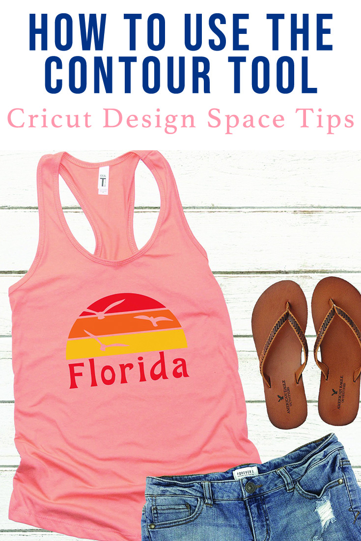 How to use the Contour Tool in Cricut Design Space - Tips for Using Cricut Design Space via @clarkscondensed