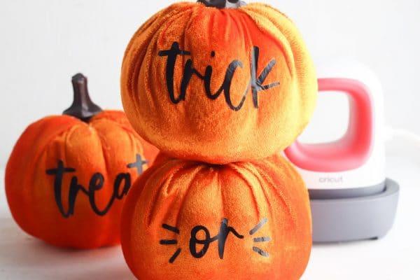 cricut pumpkin craft