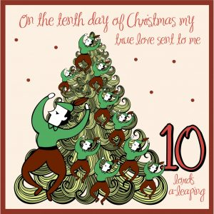 10th day of christmas ideas