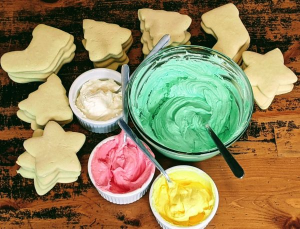 christmas frosting