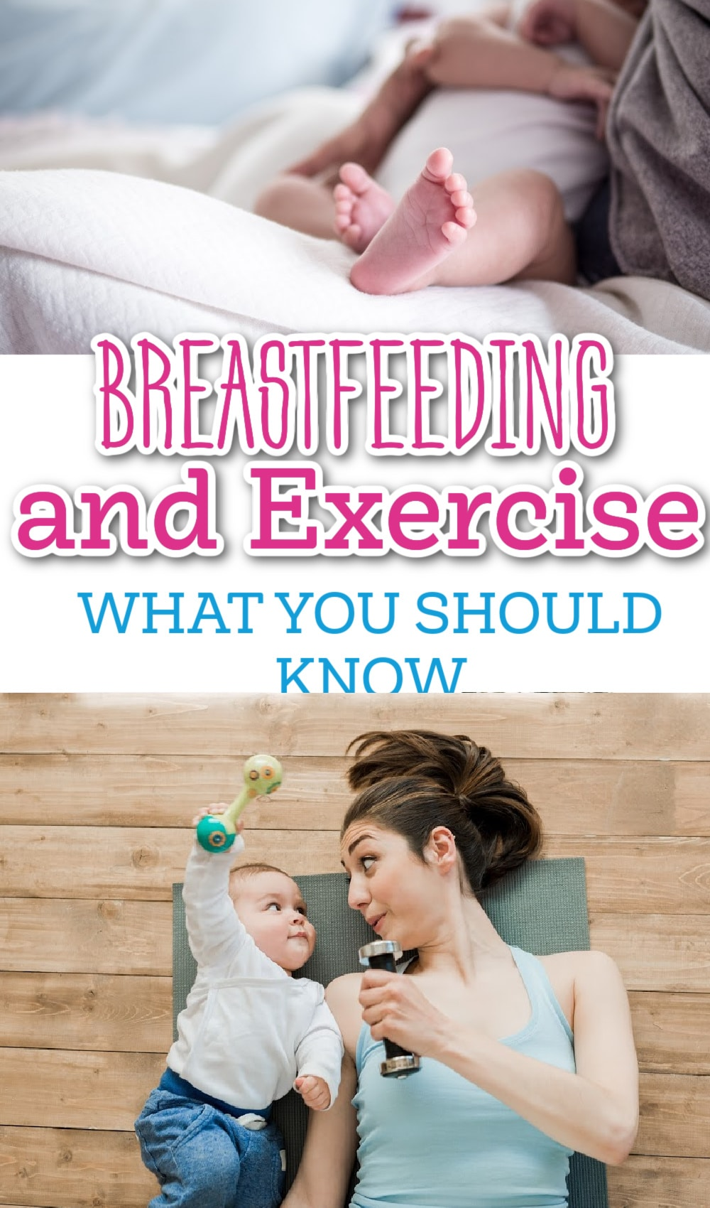 breastfeeding and exercising / postpartum exercise / postpartum fitness / postpartum / breastfeeding / breast milk #breastfeeding #healthyliving #healthy #fitness #mealplans via @clarkscondensed