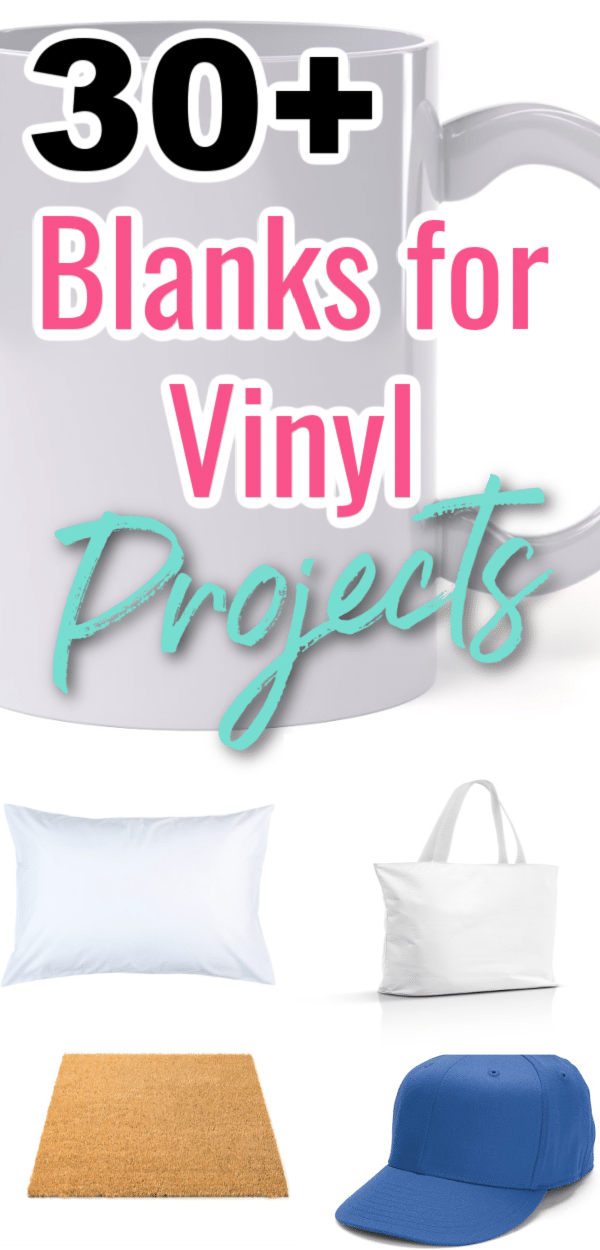 30+ Blanks for Vinyl Projects You Can Buy on Amazon via @clarkscondensed