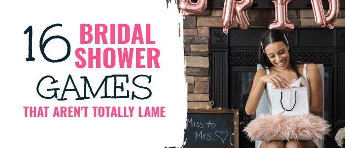 IDEAS FOR BRIDAL SHOWER GAMES