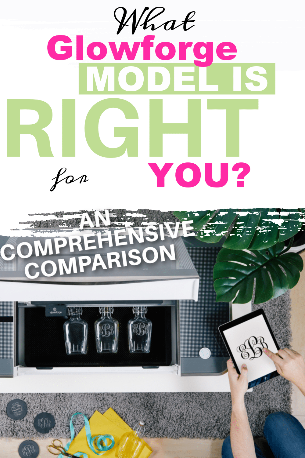 "Are you in the market for a Glowforge 3D Printer? Congrats! If you are asking yourself, ""Which Glowforge should I buy?"" you are in the right place! This post does an in-depth comparison of the basic, plus, and pro to help you decide which Glowforge model is right for you! via @clarkscondensed"