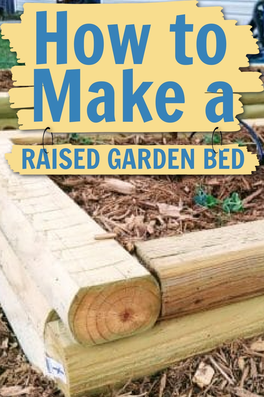 How to Make a Raised Garden Bed Tutorial via @clarkscondensed
