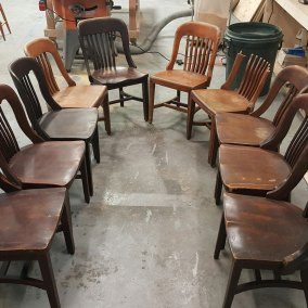 Marble & Shattuck Chairs