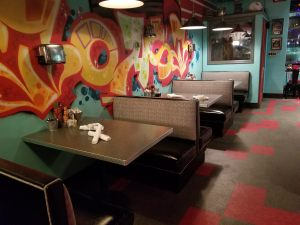 Custom Upholstered Booth Seating | Toast Ferndale