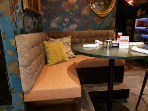 Custom Upholstered Booth Seat (Seat Only) | Toast Birmingham
