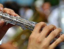 Band Instruments At Clark's Music Center Jacksonville Florida