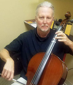 Michael Kelly - Piano, Drums, Guitar, Voice, Violin, Viola, Cello and Bass Instructor at Clark's Music Center