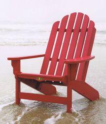 Polywood Adirondack Chairs - Folding