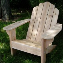 Adirondack Chair Wood Springs For Rocking Chairs Clarks Original Cedar