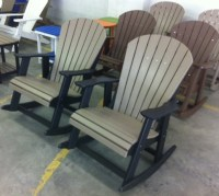 Polywood Rocking Chairs - Polywood Adirondack Rockers