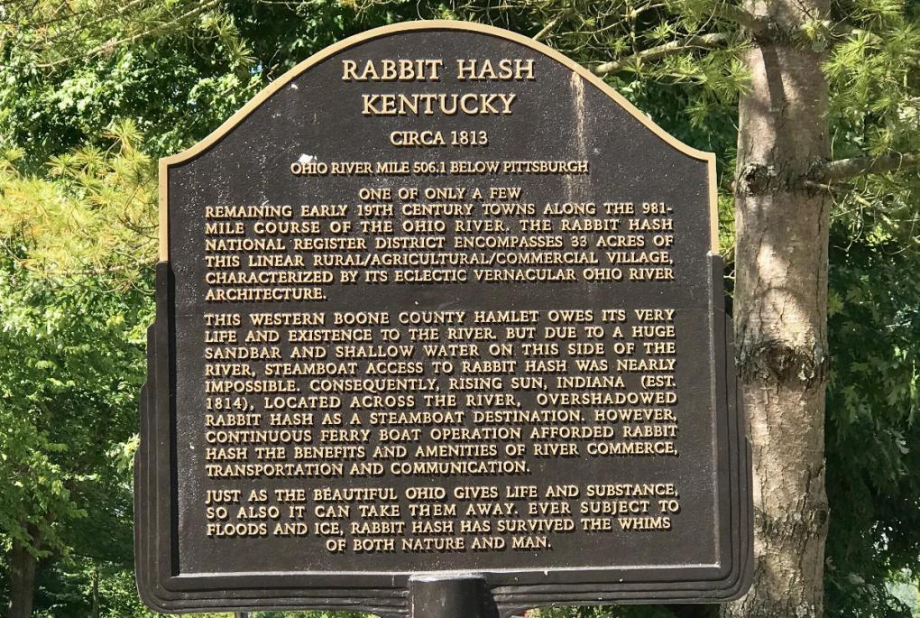 Rabbit Hash Kentucky