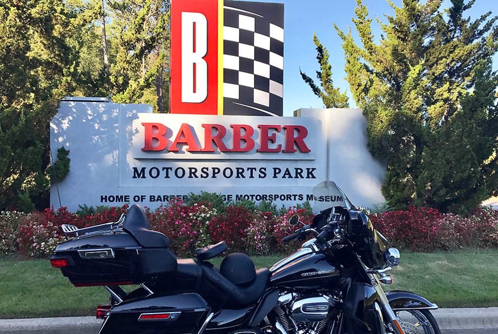 Barber Motorsports Park. (Hank Bonecutter)