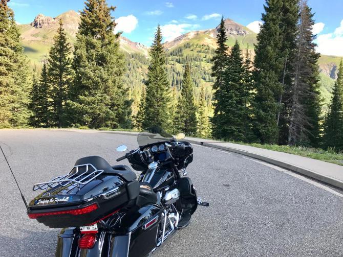 Hank Motorcycle Colorado