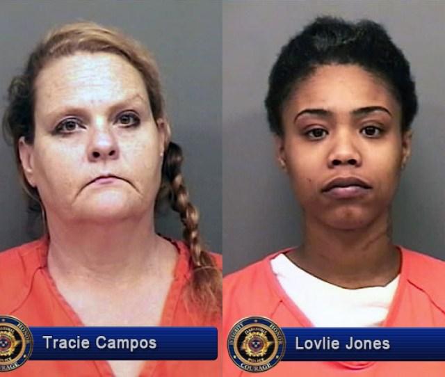 Clarksville Police Arrest Tylisha Bailey Tracie Campos Lovlie Jones And Rachel Holder During Prostitution