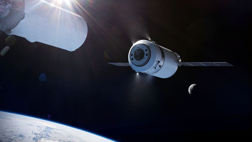 NASA selects SpaceX for Gateway Logistics Services Artemis ...