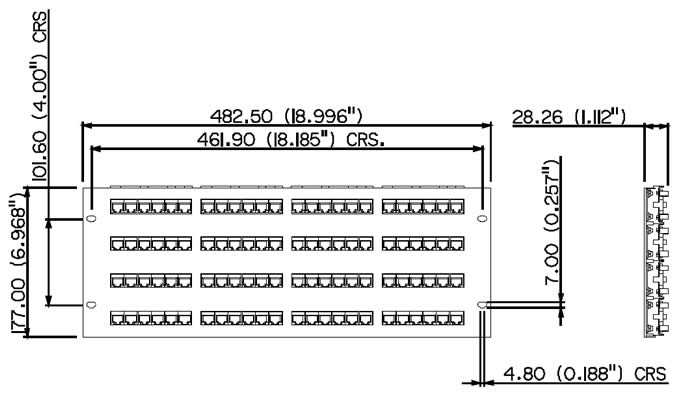 Patch Panel Wiring Diagram On T1 Patch Panel Cat5e Wiring Diagram
