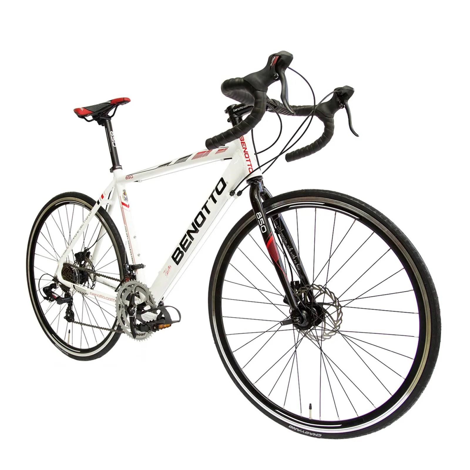 Bicicleta Benotto Ocean Dr Acero R26 1v Hombre Negro