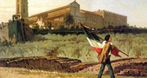 La prima bandiera italiana