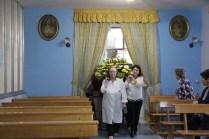 L'ingresso della reliquia nella Cappella dell'Ospedale