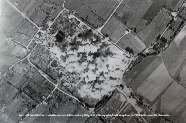 bombardamento alife 1943