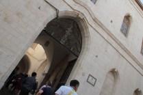 Gerusalemme, ingresso al Patriarcato latino