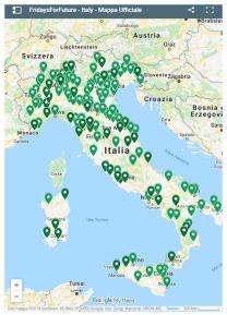 fridayforfuture italia mappa