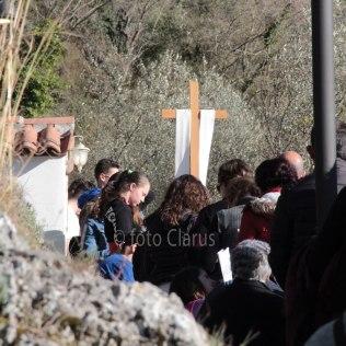 La Via Crucis degli operatori della Caritas di tutta la Diocesi (quaresima 2019)