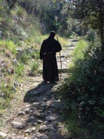 Lungo l'antica mulattiera che da Piedimonte Matese conduce a Monte Muto