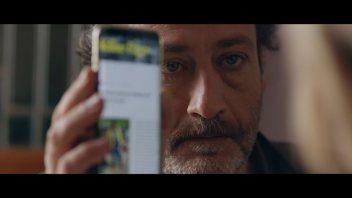 L'attore PierGiuseppe Francione in un momento del film. Fonte Facebook