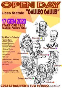 open day_liceo galilei_piedimonte matese