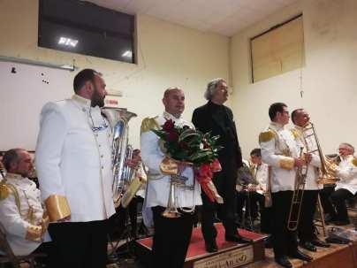 La presentazione del direttore d'orchestra M.o Cammarano