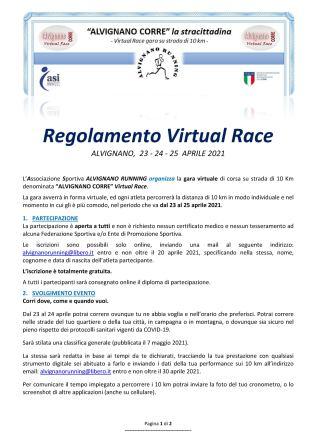 virtual race_regolamento_1