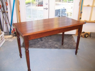 Brett's Kitchen Table
