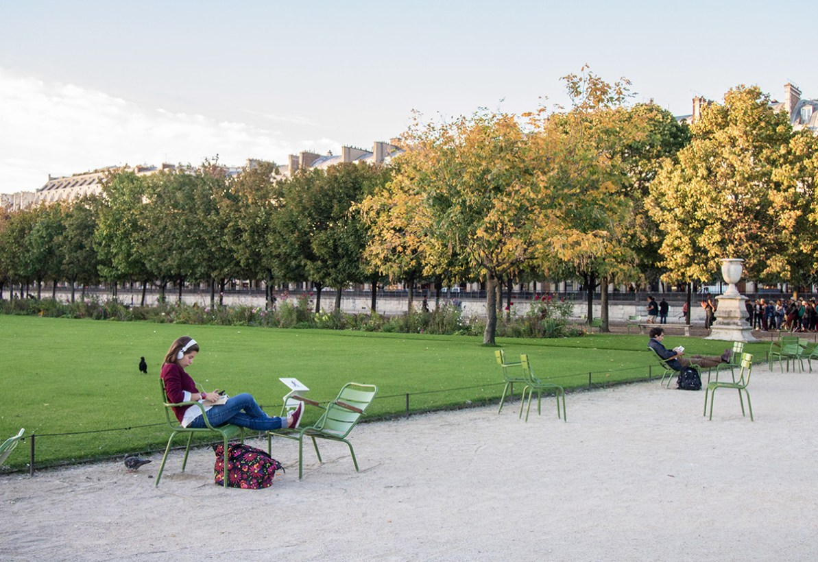 Paris: Tuileries Garden (Day 9)