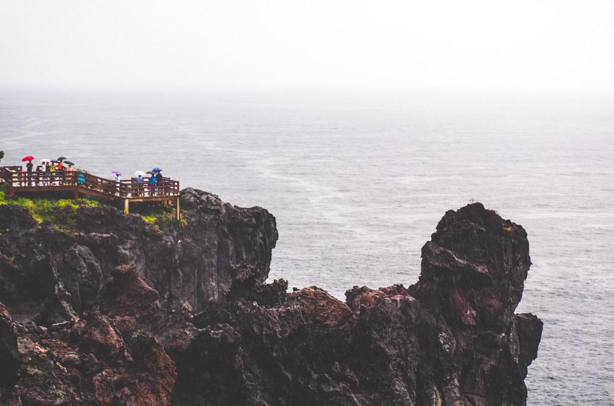 Korea: Jusangjeolli Cliff & Oedolgae Rock