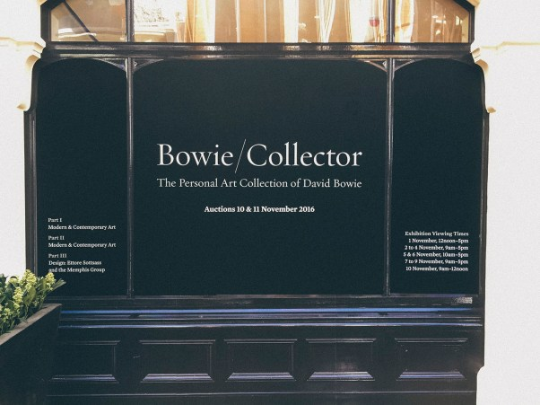 London Sotheby's Bowie/Collector