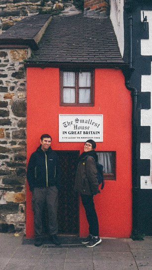 North Wales Conwy Smallest House in Great Britain