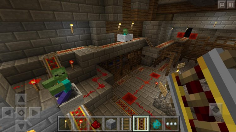 Download Minecraft Pocket Edition v 1.1.0.8 Mod APK Immortality Working